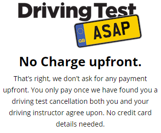 Short Notice Driving Test Cancellations Worksop.