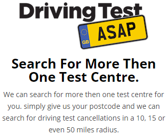 Book a Short Notice Driving Test Cancellations Worksop today