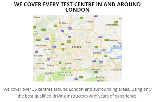 Driving Test Car Hire Morden